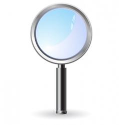 magnifier illustration vector image