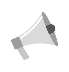 megaphone sound device icon vector image vector image