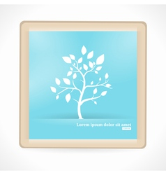 Abstract Tree Artboard vector image vector image