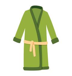 bath house sauna bathrobe icon item for pleasure vector image