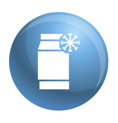 freeze pack icon simple style vector image