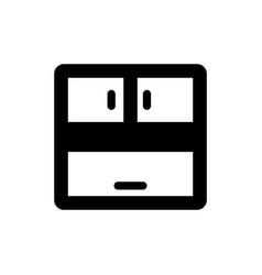Furniture interior icon vector