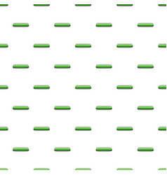 Light green rectangular button pattern vector