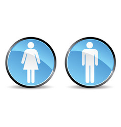 woman men icon vector image