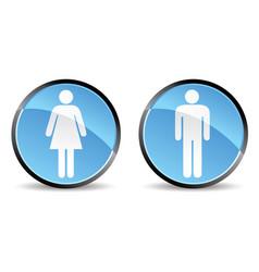 Woman men icon vector