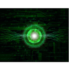 connection vector image vector image