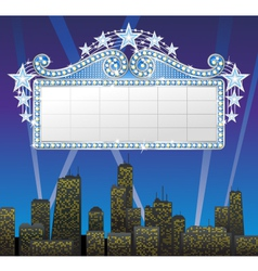 marquee banner vector image