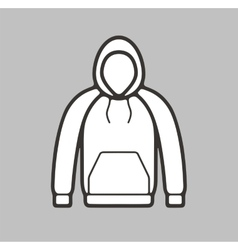 Smock icon on background vector image vector image