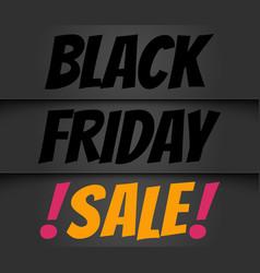 Black friday season sale vector