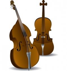 cellos vector image vector image