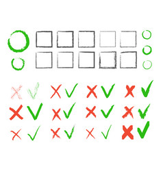 cross hook collection icons set black vector image