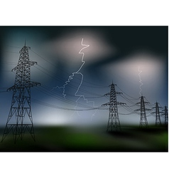 Electricity vector image