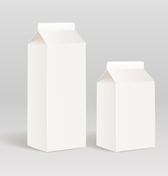milk product container vector image