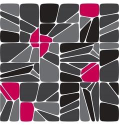 Mix seamless mosaic pattern vector