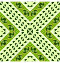 Seamless geometric ethnic tribal pattern vector image vector image