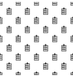 Summary in folder pattern simple style vector