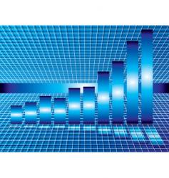 perspective grid vector image vector image