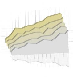 subtle graph vector image