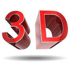 3D sign vector