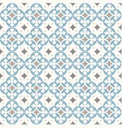 ancient floor ceramic tiles vector image