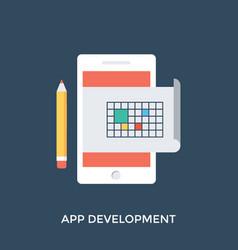 App development vector