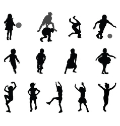 children vector image