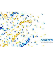 confetti make your party vector image