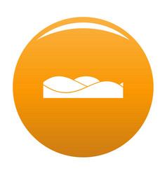 Equalizer sound tune icon orange vector