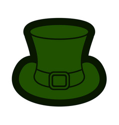 leprechaun hat icon vector image