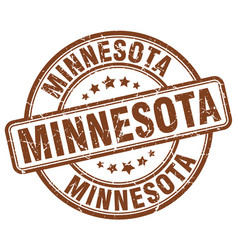 Minnesota stamp vector