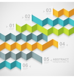 Modern design template vector image