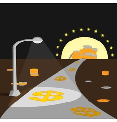 way to make money vector image