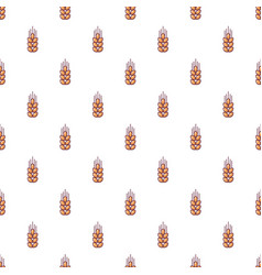 wheat pattern seamless vector image