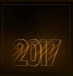2017 new year background with diagonal lights vector image vector image