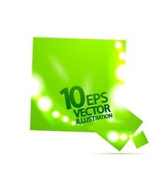 square bubble background vector image