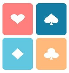 Play cards vector