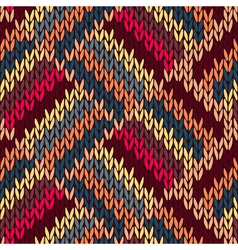 Style Seamless Knitted vector image vector image