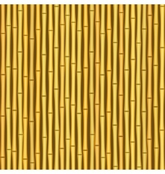 vintage bamboo wall seamless texture background vector image vector image