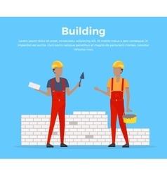Building Banner Web Design Flat vector