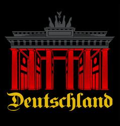 Deutschland - berlin vector