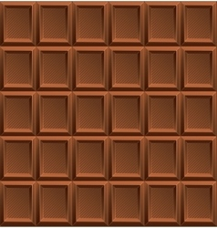 Milk Chocolate Background vector