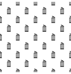 Summary in trash pattern simple style vector