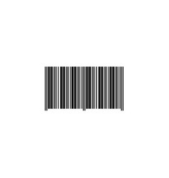 web icon barcode id symbol product id vector image