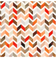 seamless orange herringbone background vector image vector image