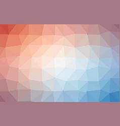 abstract polygon geometric background and vector image