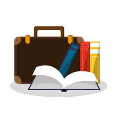 academic book design vector image