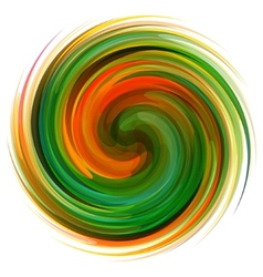 Colorful abstract icon Dynamic flow vector