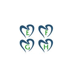 healthy dental care set vector image