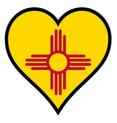 Love new mexico vector