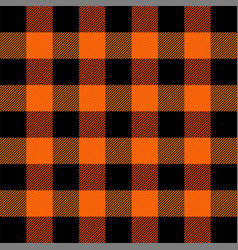 Lumberjack plaid scottish cage background vector
